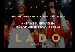 LADO nastupa na Danima hrvatske kulture u Lendavi