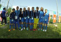 Čakovčanka Ema Kobetić dio ekipe na projektu Nogomet za prijateljstvo