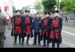 FOTO: Zrinska garda rado viđena među hodočasnicima u Lourdesu
