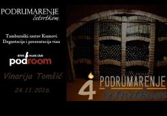 Četvrti rođendan Podrumarenja nastavlja se danas u Podroomu!