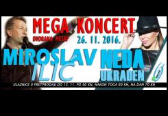 Trebate karte za koncert Ilića i Nede na Mesapu? Imamo ih mi!