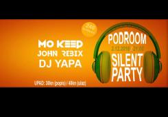 Prvi Silent Party ove subote u Podroomu! Dijelimo ulaznice!