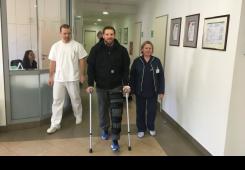 Zrnčić-Dim uspješno operirao koljeno  u Specijalnoj bolnici Akromion!
