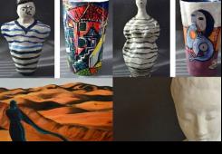 Majda Bikić Salarić izlaže skulpture, keramika i slike