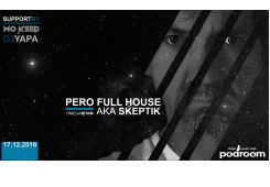 Techno spektakl: Pero FullHouse aka Skeptik u petak dolazi u Podroom!