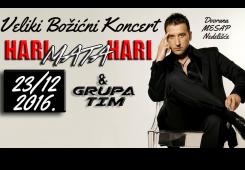 Božićni koncert na Mesapu: Dolazi Hari Mata Hari!