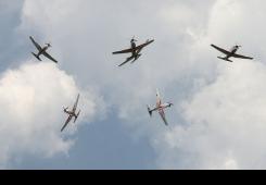 Zrakoplovi NATO saveza na varaždinskom aeromitingu 2017.