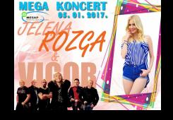 Dijelimo ulaznice za koncert Jelene Rozge i grupe Vigor!