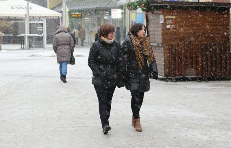 Ovog tjedna već je bilo snijega u Čakovcu, Foto: zv