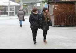 Ostaje vrlo hladno u našem Međimurju, malo snijega u petak