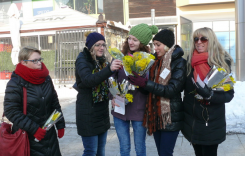 Današnjom prodajom mimoza u Čakovcu prikupljeno 13 tisuća kuna