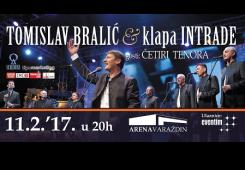 Varaždin: Tomislav Bralić i klapa Intrade ugostit će i Četiri tenora