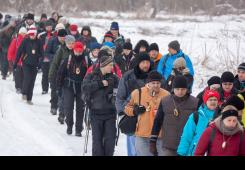 FOTO: Više od tristo hodača na Pohodu uz Muru 2017. u Sv. Martinu