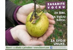 Povoćkajmo vrtove - zasadite voćku za sebe, svoju djecu i unuke