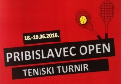 Ovu subotu i nedjelju družite se uz tenis u Pribislavcu