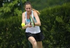Ema Mikulčić u ITF finalu u ruskom St. Petersburgu