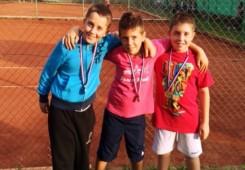 Na teniskom Mastersu u Koprivnici Kaučić bio treći, Babić četvrti!