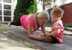 Trening za novopečene majke
