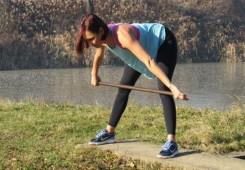Vježbe sa štapom za dobro jutro