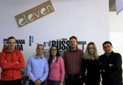 FOTO: TICM-ovci posjetili Eleven Startup akcelerator u Sofiji