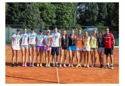 FOTO:Tenisačice Punčeca ipak nisu zadržale naslov seniorskih prvakinja